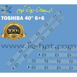 TOSHIBA 40″ 6+6 40L2400EA