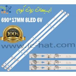 8LED 6V 凹 JL.D40042330-004ES-M