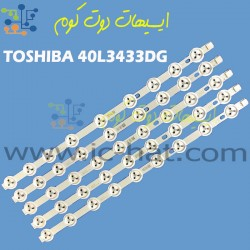 "TOSHIBA 40L3433DG 40"" NDV..."