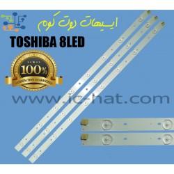TOSHIBA 8LED 3V...